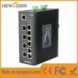 Managed 10 Port Gigabit SFP Industrial Ethernet Network Switch