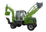 Xn750 Backhoe Loader with Wide Operation Space