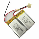 5X20X35mm 300mAh 3.7V Rechargeable Li-Polymer Battery Cell with PCM