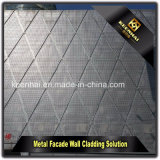 Exterior Digital Perforated Aluminum Facade Wall Panel for Building