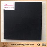 Pure Black Artificial Quartz Stone Color for Hot Selling
