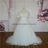 New Style Lace Wedding Dress with Cape