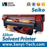 China Trustful 3.2 Meter Solvent Plotter Printer Withspt510/50pl Print Head, Large Format Printing Machine for Digital Printer Sk3278s
