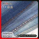 21s Slub Denim Fabric Cotton Spanedx 2/1 Twill Jean Fabric