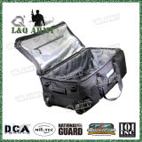 Military Duffel Bag with Durable Wheels and Trolley