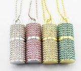 Lipstick Style Jewellry Diamond Gift USB Flash Memory