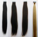 "Skin Weft Straight Brazilian Tape in Extension 20PCS Double Sided Virgin Hair 16""-24"""