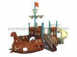 Ship Children Playground Equipment in The Amusement Park