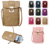 Universal Mobile Phone Case Wallet Pouch Case Cross-Body Shoulder Bags