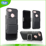 TPU PC 3 En 1 Heavy Shockproof Belt Clip Case Cover for iPhone 7