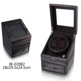 Packing Box Rotating Leather Wooden Automatic Watch Winder Settings