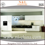 Modern Wholesale White Wood Grain Home Kitchen Furniture