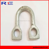 "Galvanized Staight Shackle 5/8"" for Pole Line Hardware"