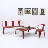 Hot Sales Beach Table Metal Restaurant Furniture Sets (SP-CT773)