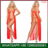 New Fashion High Quality Red Lace Lingeries Set
