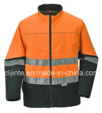 Reflective Workwear Safety Jacket with En471