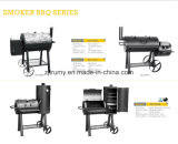 Outdoor Charcoal Barbecue Grill with Wheels