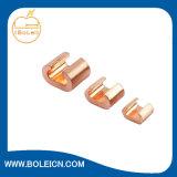 Pure Copper C Type Connectors Compression Type