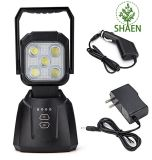 LED Work Light, 15W 1200lm LED Spot Light Rechargeable Magnetic Base LED Flood Light