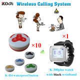 Restaurant Wireless Guest Service Calling System With100% Original