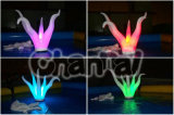 Colorful Lighting Inflatable Algae for Party Decoration Chad605