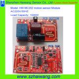 AC 220V 1500W Customized High Sensitivity Microwave Transceiver Sensor Module Motion Detector Module for Intelligent Systems Hw-Mc202