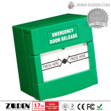 Break Glass Fire Emergency Exit Release with Resetting Function