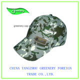 Camouflage Woven Label Embroidery Heavy Brush Cotton Cap