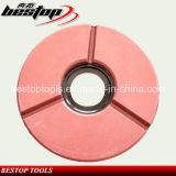 """10"""" Red Buff Polishing Wheel for Granite Slab"""
