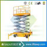 2016 Scissor Lift Hydraulic Movable Lift Hydraulic Lifting Aerial Platform with Ce SGS TUV