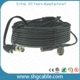 Coaxial Cable Rg59 with Powe Wire Assembly with BNC DC Connectors