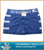 High Quality Cotton Men′s Underwear with Jacquard Waist