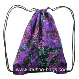 Fashion String Bag, Backpack, Promotion Bag (MH-2121 purple)