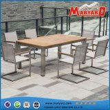 Hot Sale Wood Dining Table and Chairs Modern Outdoor Dining Set