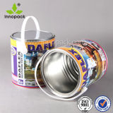 5L Custom Printing Mini Metal Bucket with Lid and Handle