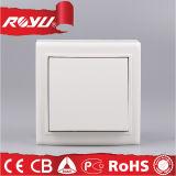 1 Gang 1 Way Wall Switch, Push Button Electric Switch