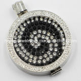 New Design Stainless Steel Locket Coin Pendant with Coin Plates