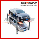 Hydraulic Four Post Car Stacker Auto Parking Lift (Hydro-Park 2236)