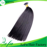 Overseas Hair Indian Straight Human Hair Extensions in Stock