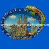 Resin Barcelona Souvenirs of Fridge Magnet Crafts