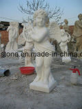 Granite Angel Monument Statue / Headstone Sculpture for Cemetery