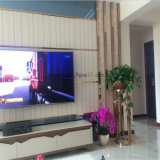 Creative Stainless Steel Side Table Living Room Floor Type Flower Vase Table