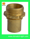DIN 2817 Brass Male with Smooth Tail DIN Coupling