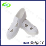 Clean Room Worker Footwear Canvas PVC ESD Antistatic Shoes