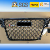Auto Front Grille Bumper (Chromed Logo) for Audi RS4 2008-2011""
