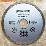 Diamond Rim Continous Saw Blade for Wet Cutting Circular Diamond Saw Blades