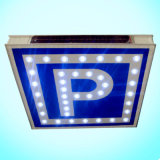 Ce & RoHS Approved Aluminum Solar Traffic Sign / LED Road Sign