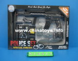 Plastic Toy Special Forces. Police Set, Gun Set (813514)