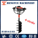 Gas Powered Earth Auger for Digging Holes