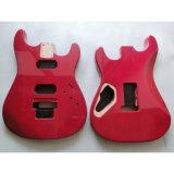 Gloss Finished Custom Mahogany Electric Guitar Body